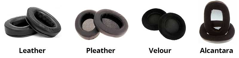 Earpads-Compared