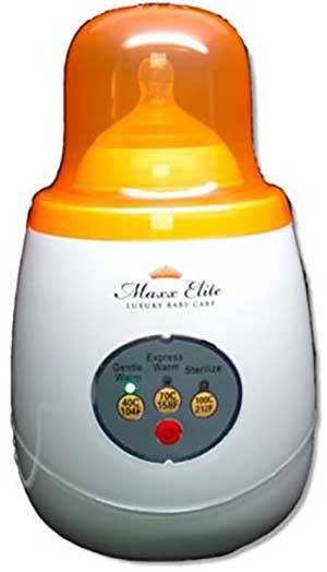 Maxx-Elite-Smart-Bottle-Warmer-and-Sterilizer Review