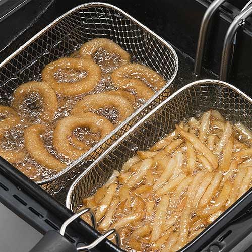 Deep-oil-frying