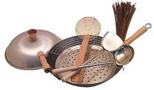 The-Wok-Shop-Carbon-Steel-Wok-Set