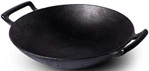 Useful.-UH-CL193-Cast-Iron-Wok