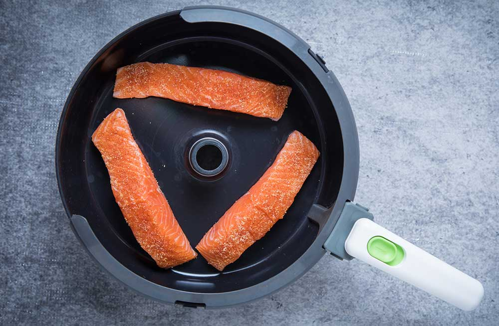 Air Frying Fish