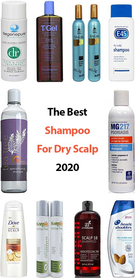 10 Best Shampoos For Dry Scalp June