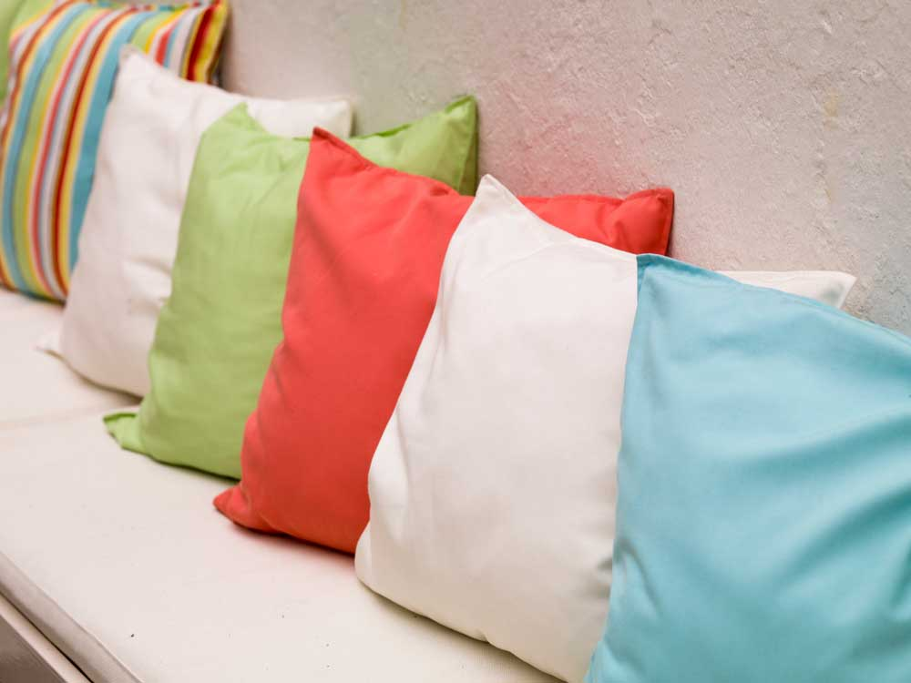 What to do with old pillows?