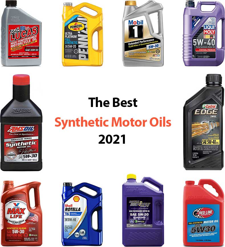 10 Best Synthetic Motor Oils (June. 2021) - Buyer's Guide and Reviews